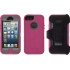 Defender Case for Apple iPhone 5 in Pink/Gray
