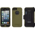 Defender Case for Apple iPhone 5 in Green/Black