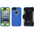 Defender Case for Apple iPhone 5 in Blue/Lime