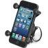 Bicycle Mount with Universal X-Grip Phone Holder