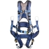 EXOFIT Tower Climbing Harness, small, 6 D