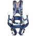 EXOFIT Tower Climbing Harness, Medium, 6 D