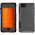 Armor Series Case, Black/Orange, iPhone 5