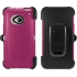 Defender Case for HTC One in Blushed