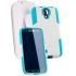 fusionpro Case for Samsung Galaxy S4 in White/Aqua