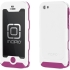 Atlas Case for Apple iPhone 5 in White/Pink