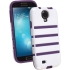 shockguard Case, Samsung Galaxy S4, White/Purple