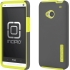 DualPro Case for HTC One in Gray/Yellow
