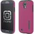 DualPro Case for Samsung Galaxy S4 in PNK/GRY