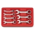 Ratchet Stubby Wrench Metric 7pc