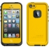 fre Waterproof Case, Apple iPhone 5, Yellow/Black