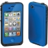 Waterproof Case for Apple iPhone 4S in Blue