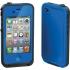 Waterproof Case for Apple iPhone 4S in Blue