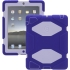 Survivor Case for the Apple iPad 2/3/4 in Pur/Lav
