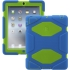 Survivor Case for the Apple iPad 2/3/4 in Blu/Grn