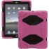 Survivor Case for the Apple iPad 2/3/4 in Pnk/Blk