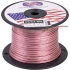 18ga 2 conductor Clear Speaker wire/1000 ft.