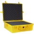 "Equipment Case21-3/4""Lx16-13/16""W x7-7/8""D.YELLOW"