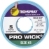 "Solder Wick braid Size 4; .100""W x 50'L; Blue"