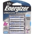 AA Lithium Batteries, 4 pack