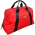 "Red Nylon Carry All Rope Bag. 11"" x 24"" x 14"""