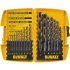 Black Oxide Drill Bit Set, 17 piece