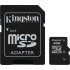 4GB MicroSD Memory Card, With Adapter