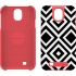 Trina Turk Echo Case for Samsung GS4 in Blk/White