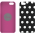 Snap Case for the Apple iPhone 5c in Black/White