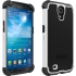 Shell Gel Case for Galaxy Mega 6.3 in Black/White