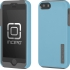 DualPro Case for iPhone 5s/5 in Cyan/Gray