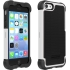 SG (Shell Gel) Case for  iPhone 5c in Black/White