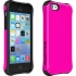 Aspira Painted Case for iPhone 5c in Pink/Black