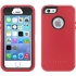 Defender Case for Apple iPhone 5s in Raspberry