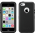 Defender Case for Apple iPhone 5c in Black/Black