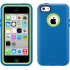 Defender Case, iPhone 5c in Ocean Blue/Glow Green