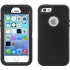 Defender Case for Apple iPhone 5s in Black/Black