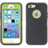 Defender Case, Apple iPhone 5s in Gray/Neon Green