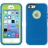 Defender Case, iPhone 5s in Ocean Blue/Glow Green