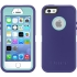 Defender Case, iPhone 5s, Violet Purple/Aqua Blue
