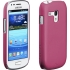 Barely There Case, Galaxy S 3 mini, Lipstick Pink