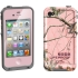 Realtree Fre Waterproof Case iPhone 4s/4 Pink