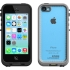 Waterproof fre Case, Apple iPhone 5c. Black/Clear