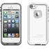 fre Waterproof Case, Apple iPhone 5s, White/Gray.