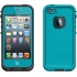 fre Waterproof Case,Apple iPhone 5s, Teal/Black