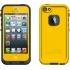 fre Waterproof Case,Apple iPhone 5s, Yellow/Black