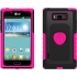 Aegis Case for LG AS730/US730 in Pink/Black