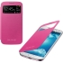 S-View Flip Cover for Samsung Galaxy S4, Pink