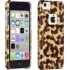 Tortoiseshell Case for Apple iPhone 5c in Brown