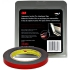 "Automotive Attachment Tape, Black, 1/2""x5yd, 45mil"
